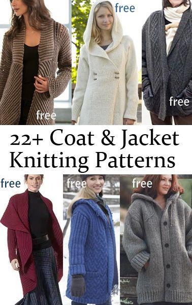 Chaqueta libre y Coat patrones que hacen punto | Lanas | Pinterest ...
