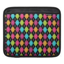 argyle pattern sleeve for iPads
