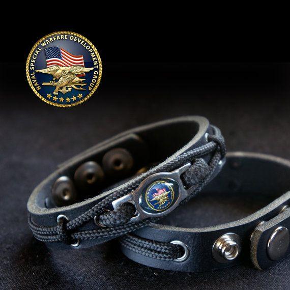The United States Navy Seals Bracelet By Losttribedesign On Etsy