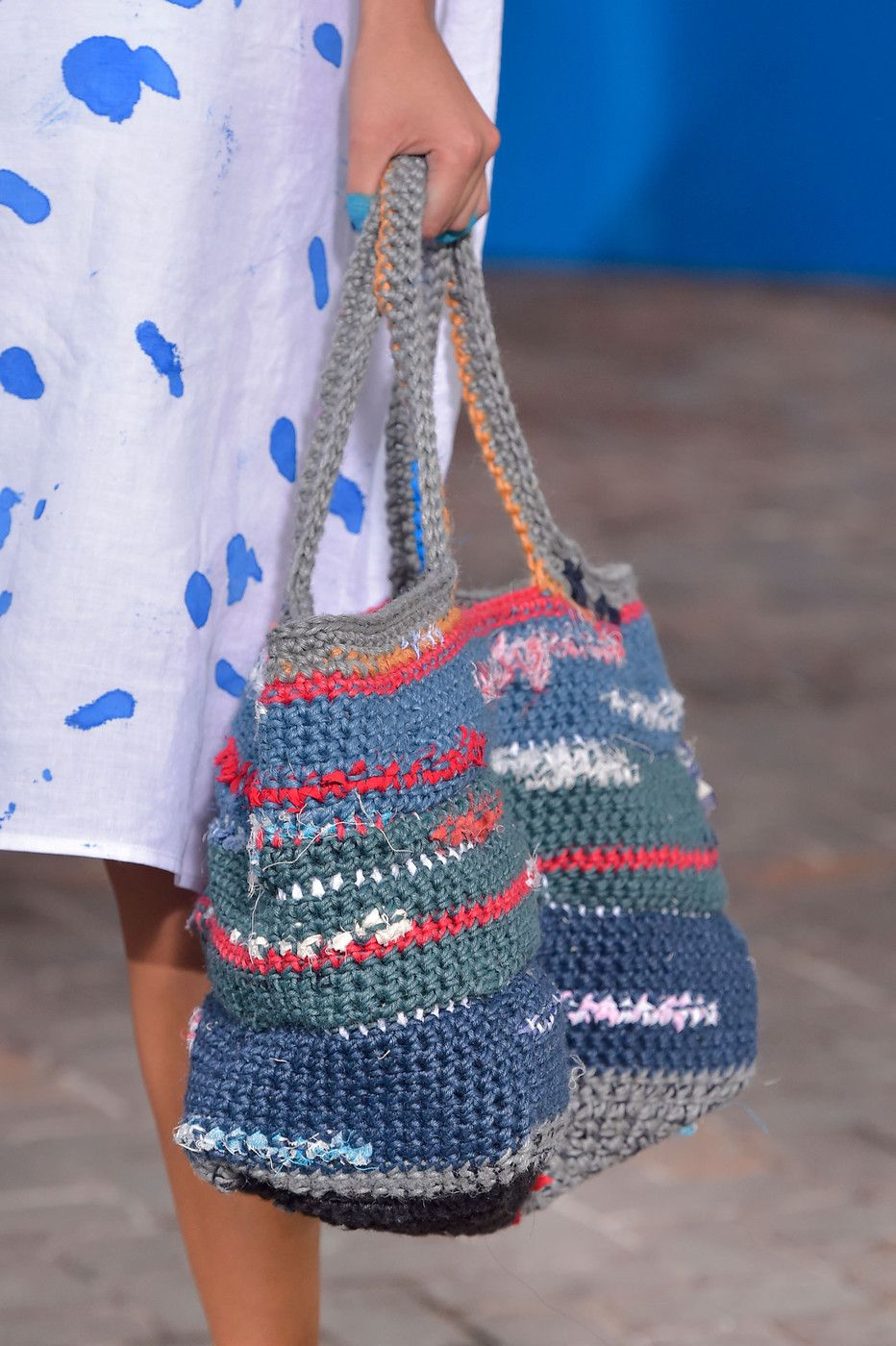8ef5efa251 Daniela Gregis at Milan Fashion Week Spring 2015 | Crochet. Fashion ...