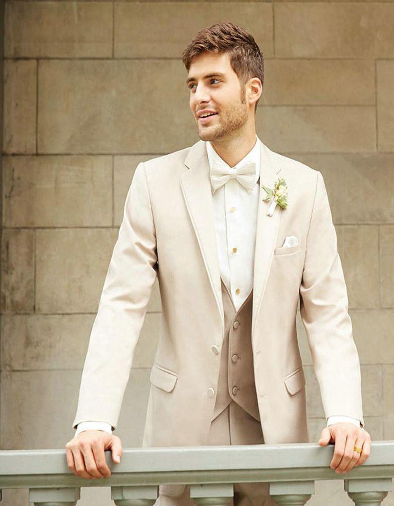 7c4d20faf9 Click to Buy << Latest Coat Pant Designs Champagne Beige Wedding Men Suit  Slim Fit 3 Piece Tuxedo Custom Suits Groom Prom Blazer Terno Masuclino  #Affiliate