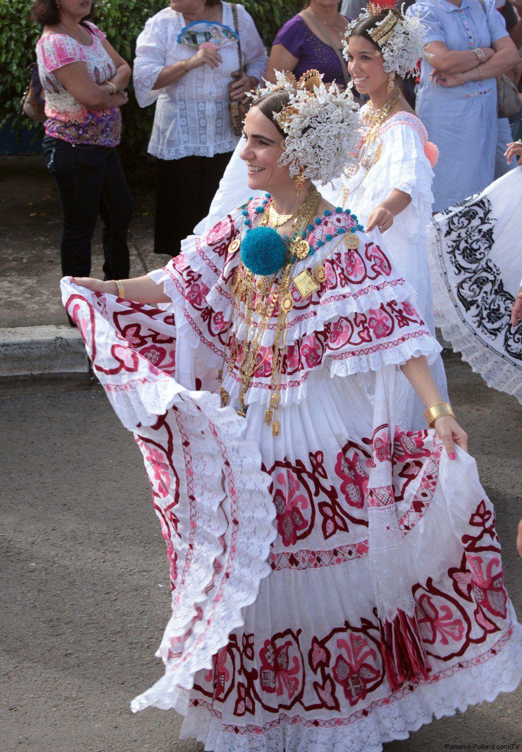 Pollera, Panama | Panama Culture | Pinterest | Costumes ...