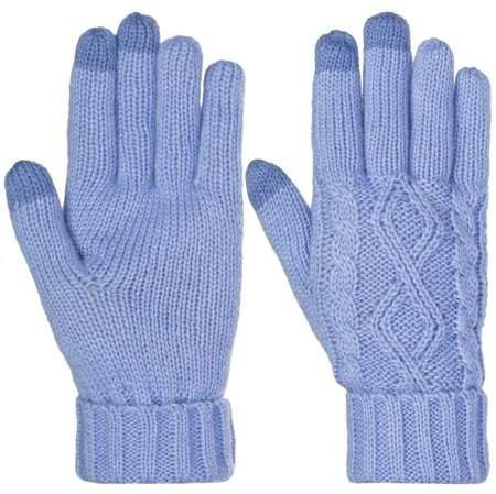 Photo of DG Hill – DG Hill Warm Texting Gloves For Women, Cable Knit Touchscreen Winter Text Gloves Cute & Cozy Fleece Lining – Walmart.com