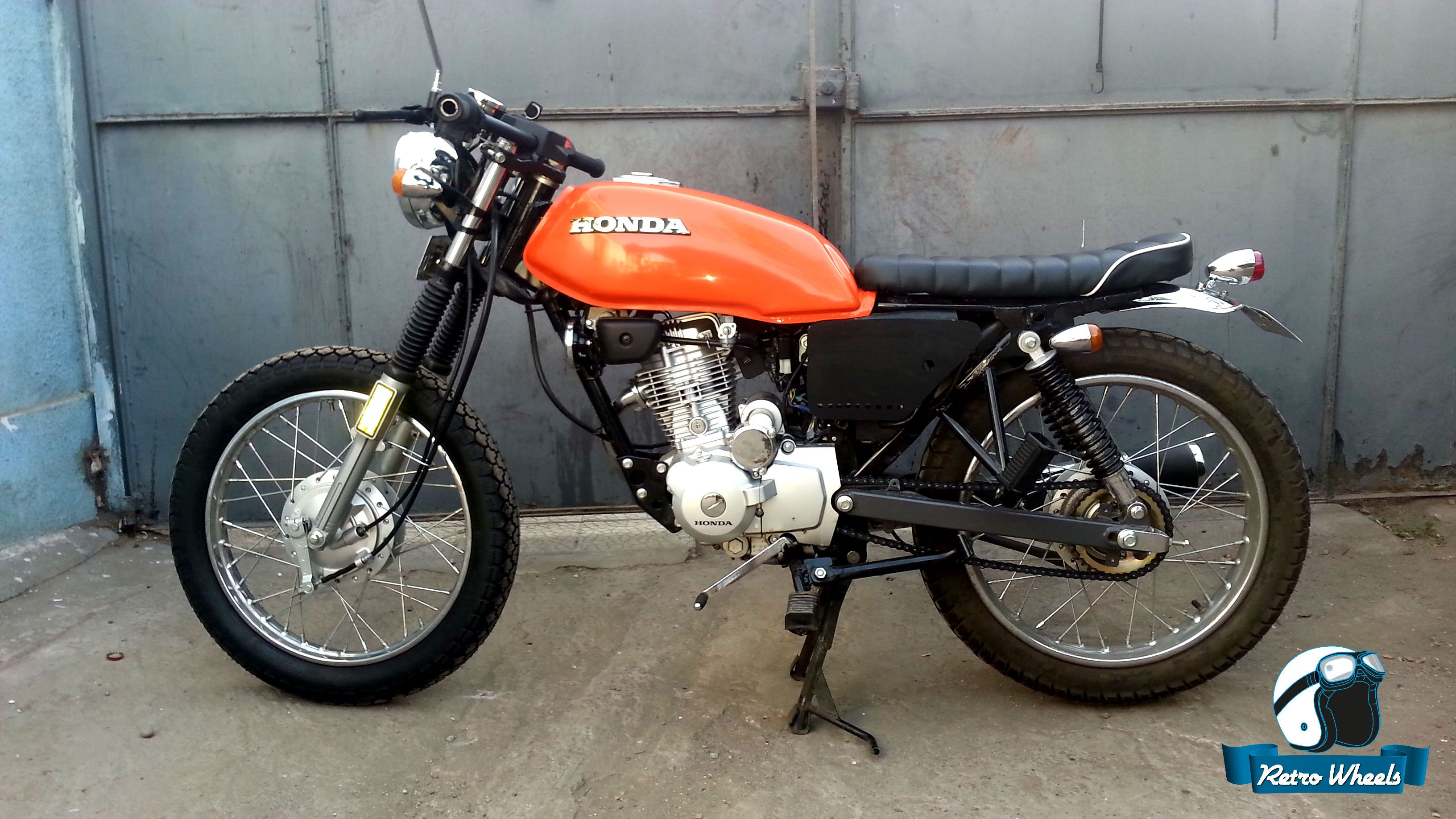 honda cgl 125 cafe racer retro wheels pinterest. Black Bedroom Furniture Sets. Home Design Ideas