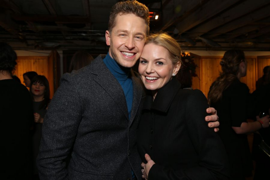 Josh Dallas and Jennifer Morrison on Once Upon a Time 100th episode red carpet - 20 February 2016