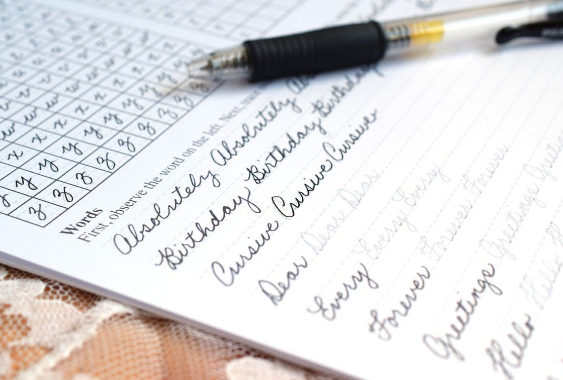 8 Tips To Improve Your Handwriting Plus A Free Worksheet