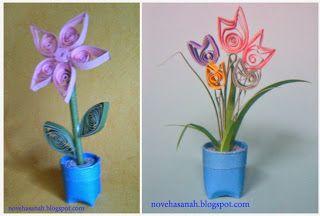 Nove Hasanah Cara Membuat Bunga Dari Kertas Bekas Prakarya