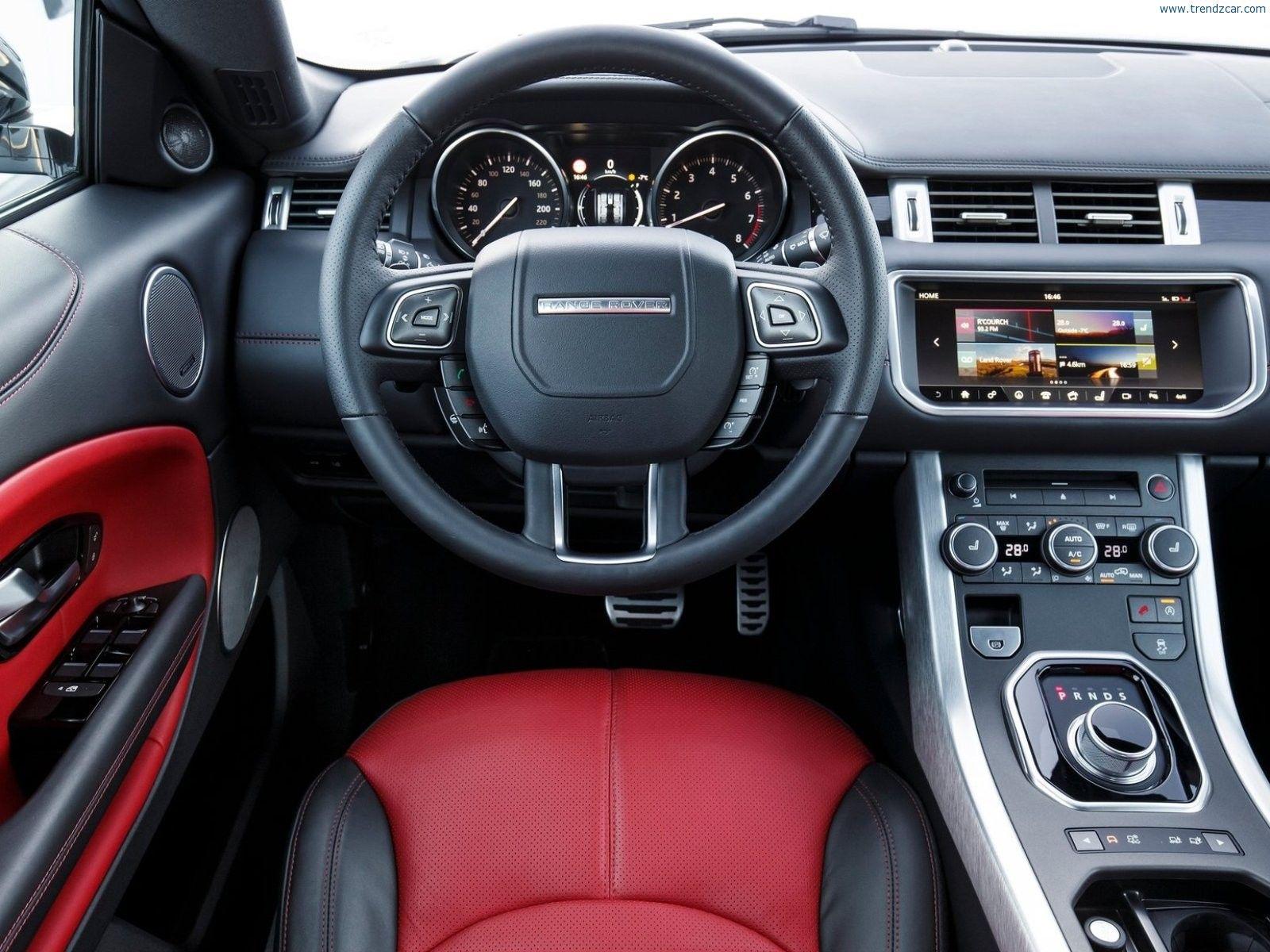 2017 Land Rover Range Evoque Convertible Interior 1