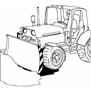 Man Driving Bulldozer Coloring Page Coloring Pages Coloring Pages For Kids Man