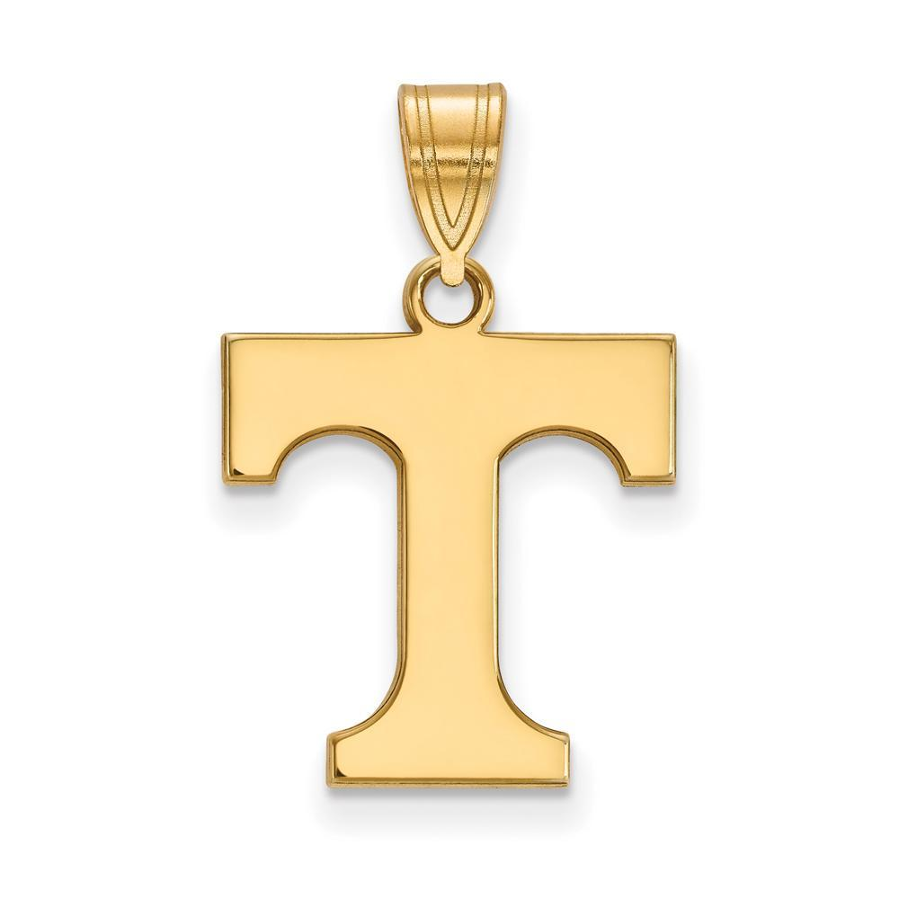 10k Yellow Gold Solid Tennessee State Pendant
