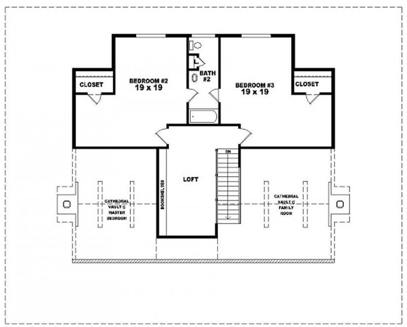 654117 One And A Half Story 3 Bedroom 2 5 Bath Country Style House Plan House Plans Floor Country Style House Plans House Plans One Bedroom House Plans