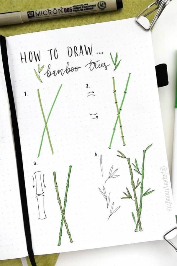Step By Step Bullet Journal Doodle Tutorials Vol.1  #Bullet #Doodle #Journal #S
