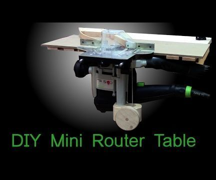 Mini router table with the simplest router lift ever router lift mini router table with the simplest router lift ever greentooth Image collections