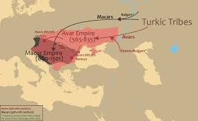 Image result for maps of migration of the lost 10 tribes of israel