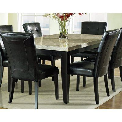 Beau Buy Steve Silver Monarch 7 Piece Marble Top Dining Room Set On Sale Online