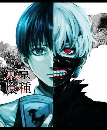 Tokyo Ghoul: Kaneki -before and after