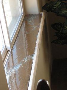 Diy Concrete Windowsills Concrete Diy Window Sill Kitchen Window Sill