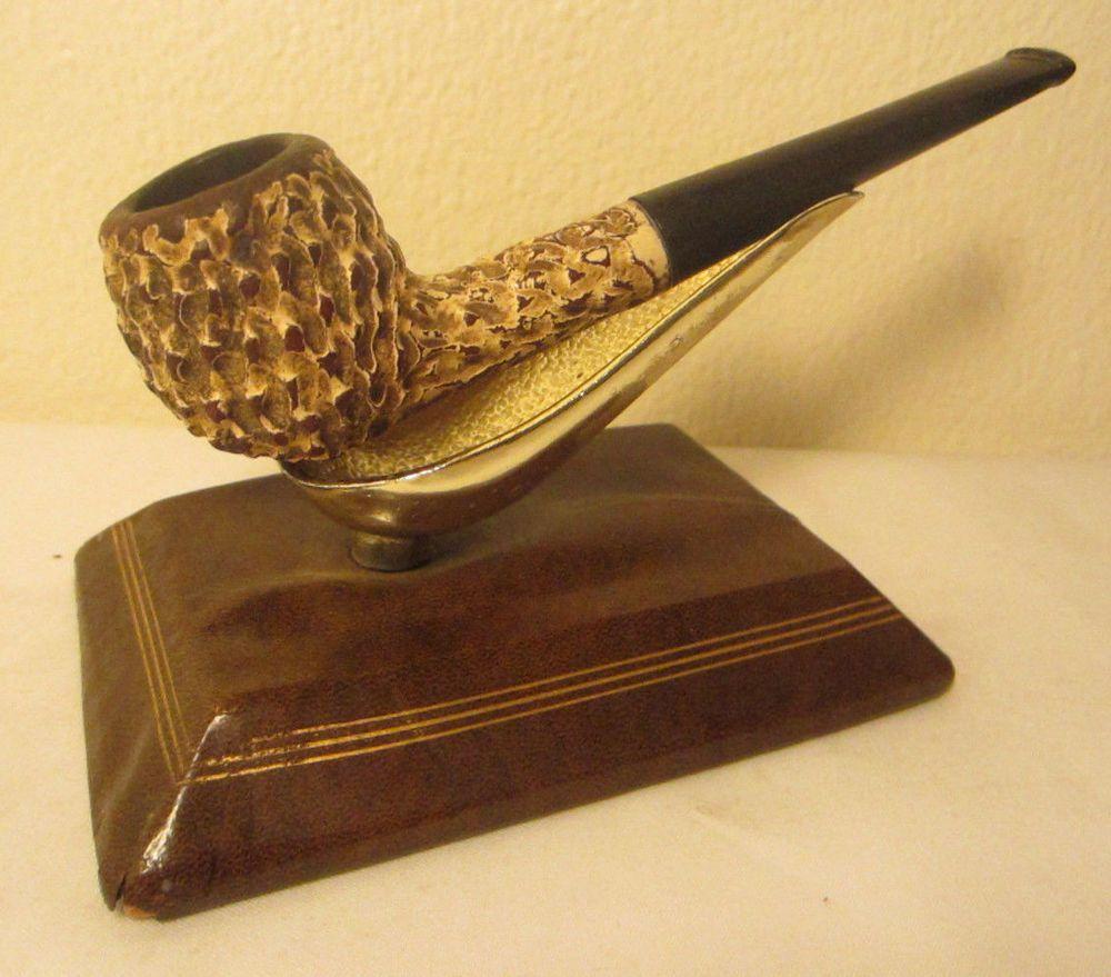 Vintage estate pipe dr grabow golden duke filtered pipe imported briar - Vintage Kaywoodie White Briar Setter Coral Straight Apple Estate Tobacco Pipe