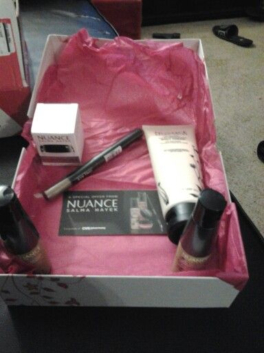 NUANCE Cosmetics by Salma Hayek.