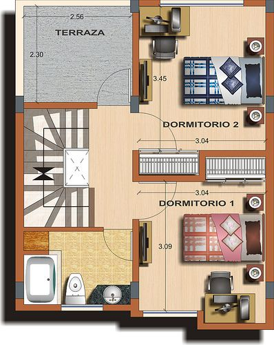 planos de casas pequenas en ecuador