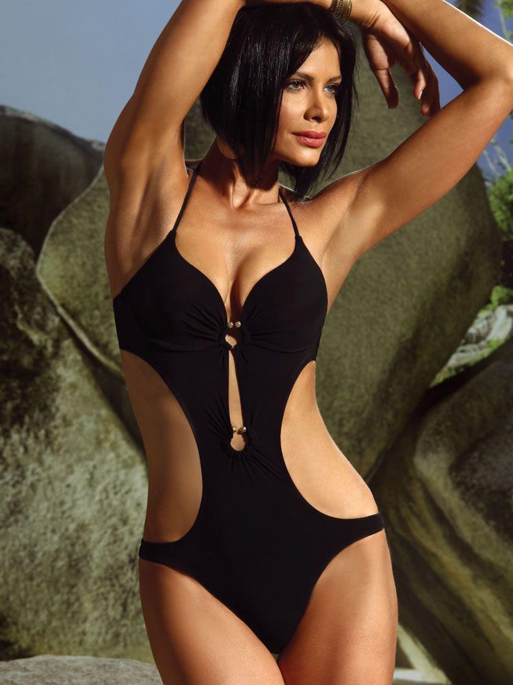 a60d76f11af Push Up Monokini underwire designer swimwear | Monokinis | Monokini ...