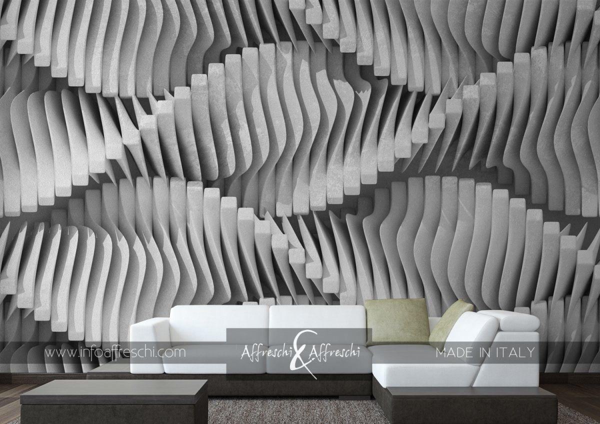 Exclusive 3D effect reproduced on natural material - real plaster! #fresco #affresco #affreschi #wallpaper #mural #design #walldecoration #3D #interiordesign #interiorismo #designdinterieur #designdinterni #amenajariinterioare #architecture #houzz #archiliving #archidaily #arquiteturadeinteriores #arquidecor #archilovers #homedecorating #walldesign #salonedelmobile #maisonetobjet #wallcoverings