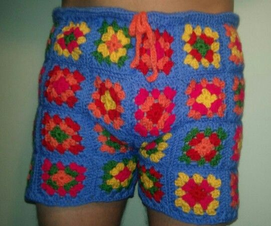Made To Order Mens Crochet Shorts Lol I Made These For A Friend
