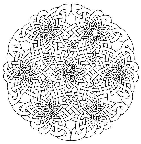 Icolor Mandalas 491 500 Mandala Coloring Pages Celtic Mandala Coloring Pages
