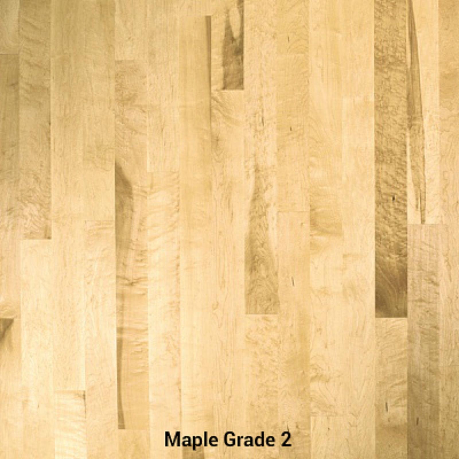 2nd Grade Maple Hardwood Flooring Hardwood floors, Maple