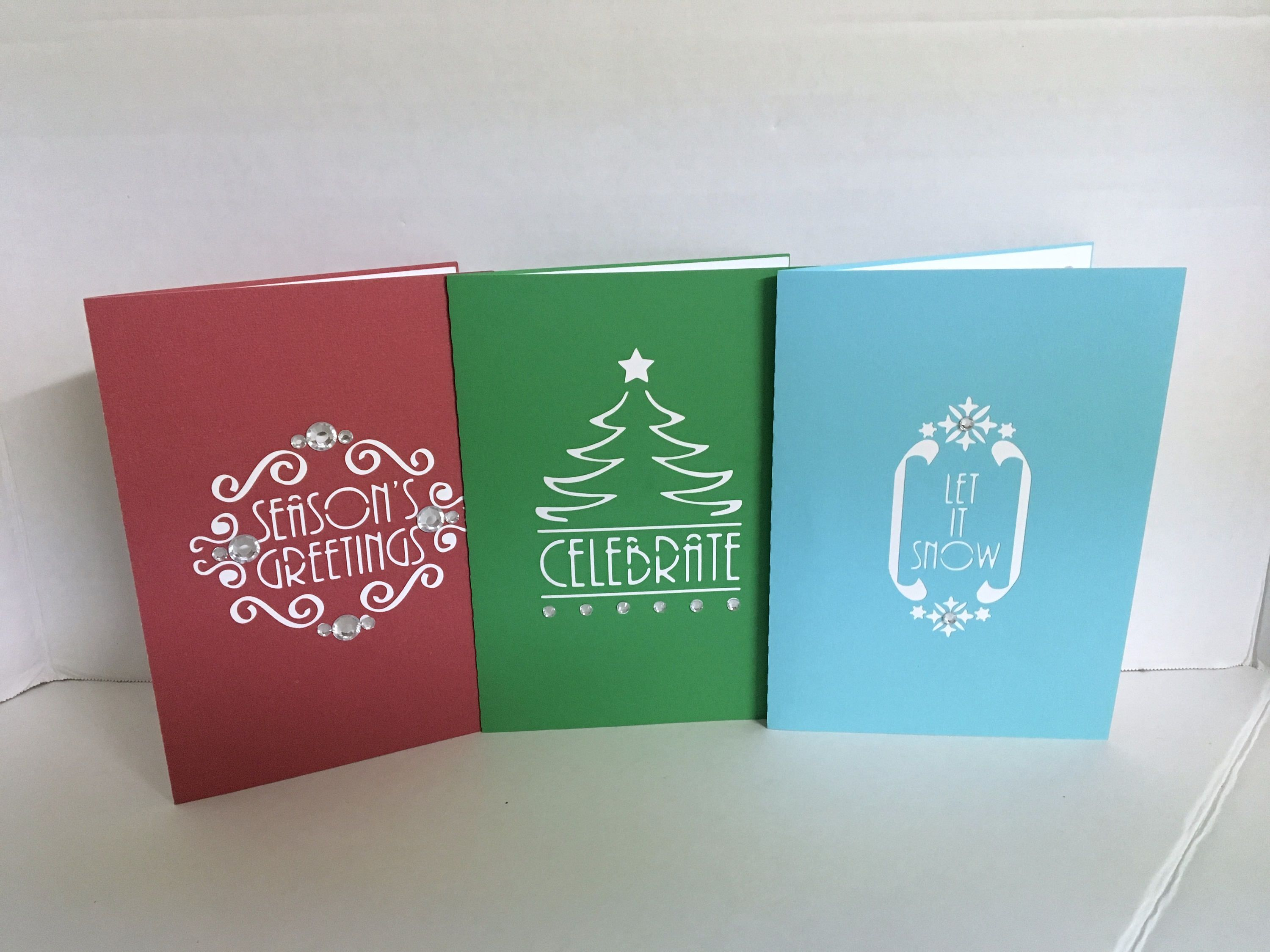 Value bundle premium pop up d christmas cards holidays snow