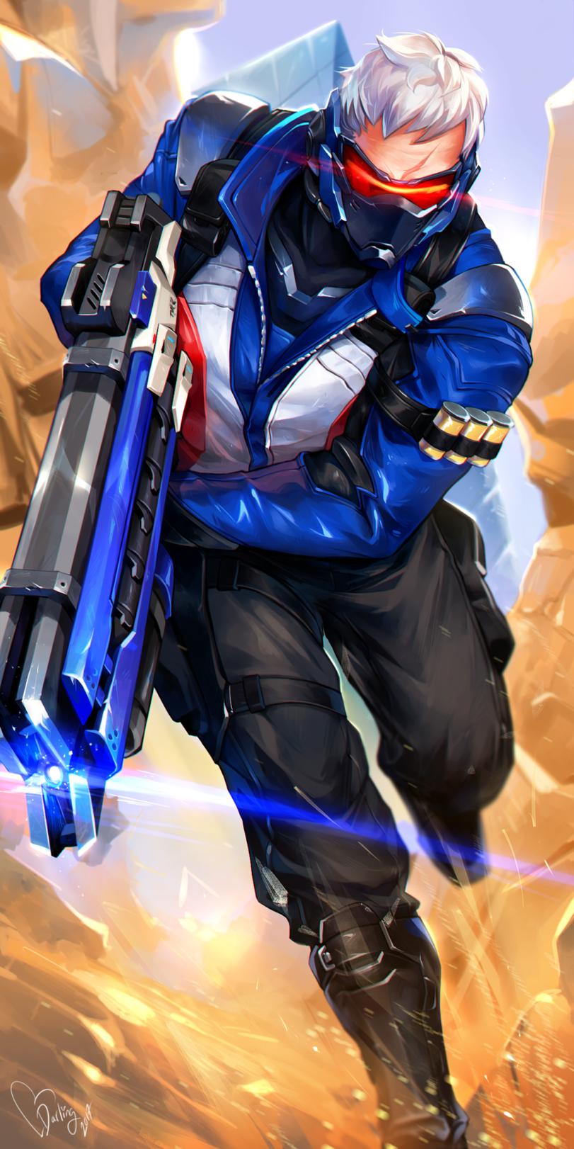 Soldier 76 Overwatch Blizzard Blizzard Entertainment Fendomy Overwatch Art Dataglitch Igrovye Arty Komiksy Soldat