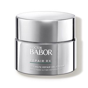 DOCTOR BABOR REPAIR RX Ultimate Repair Gel-Cream (formerly known as 'Babor Repair Rx Ultimate Gel-Cream') intensely supports the skin's regenerative process and is a great choice for post-operative skin care. Designed for normal, combination and oily skin, this gel hydrates and improves the complexion. | Babor Repair Rx Ultimate Repair Gel-Cream, 1.69 oz. | Dermstore