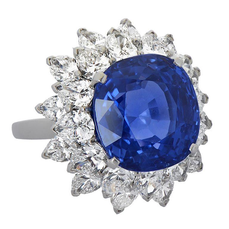 Bulgari 11 Carat Ceylon Sapphire Diamond Ring 1stdibs Com Sapphire Diamond Ring Jewelry Vintage Jewelry