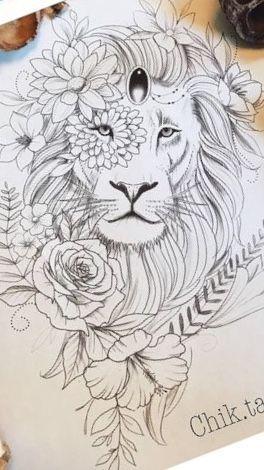 Photo of Löwen – Löwen – #liontattoo #lowen #tattoogirlmodels #tattoogirlsmall