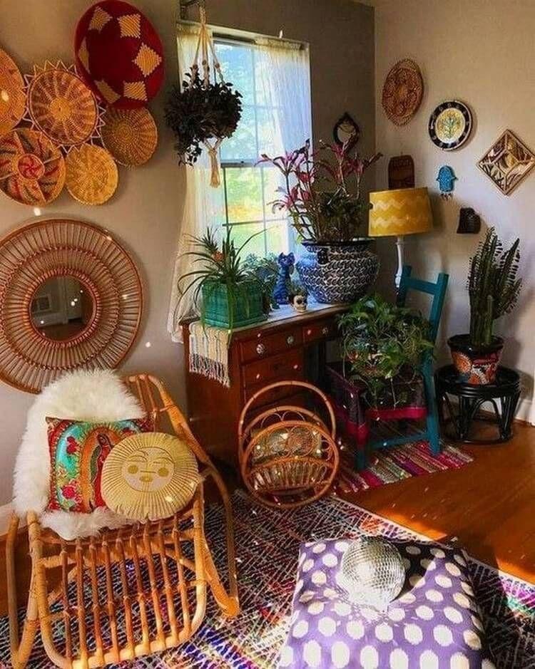 Trendy Boho Furniture Ideas for Home Decor