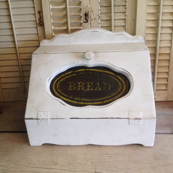 Bread Box Old Fashioned Bread Box By Thecookieclutch On Etsy