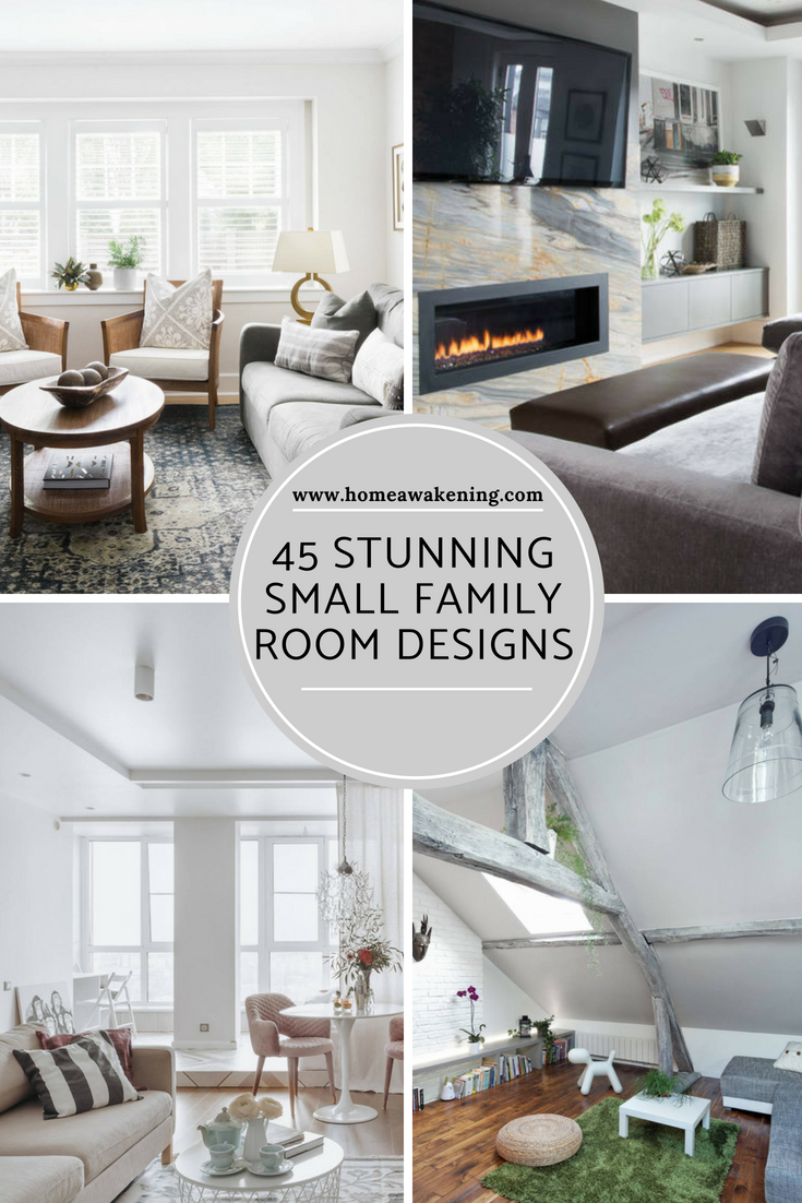 45 Small Family Room Designs And Ideas Home Awakening Small Family Room Family Room Design Family Room