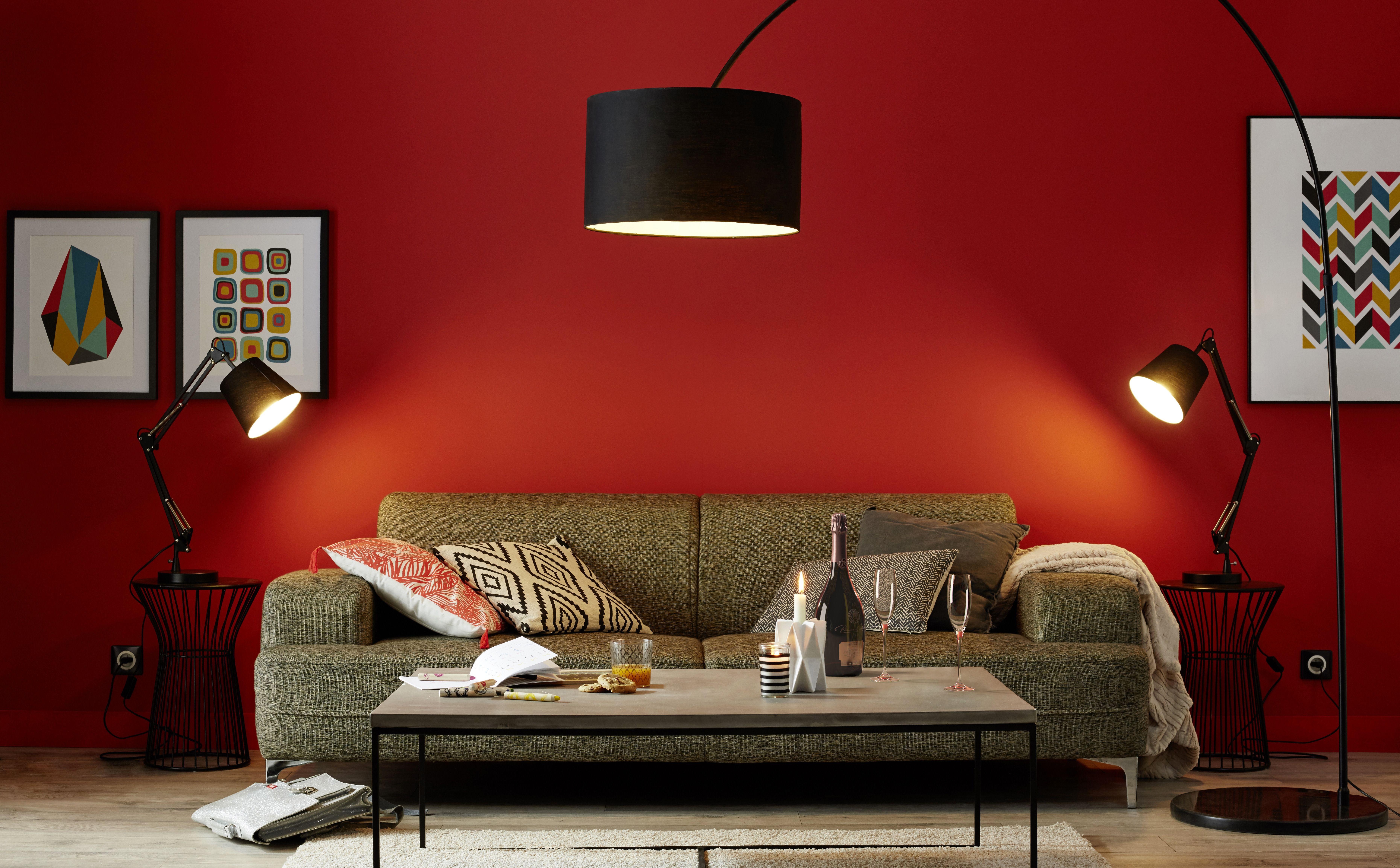 lampadaire xxl noir colours