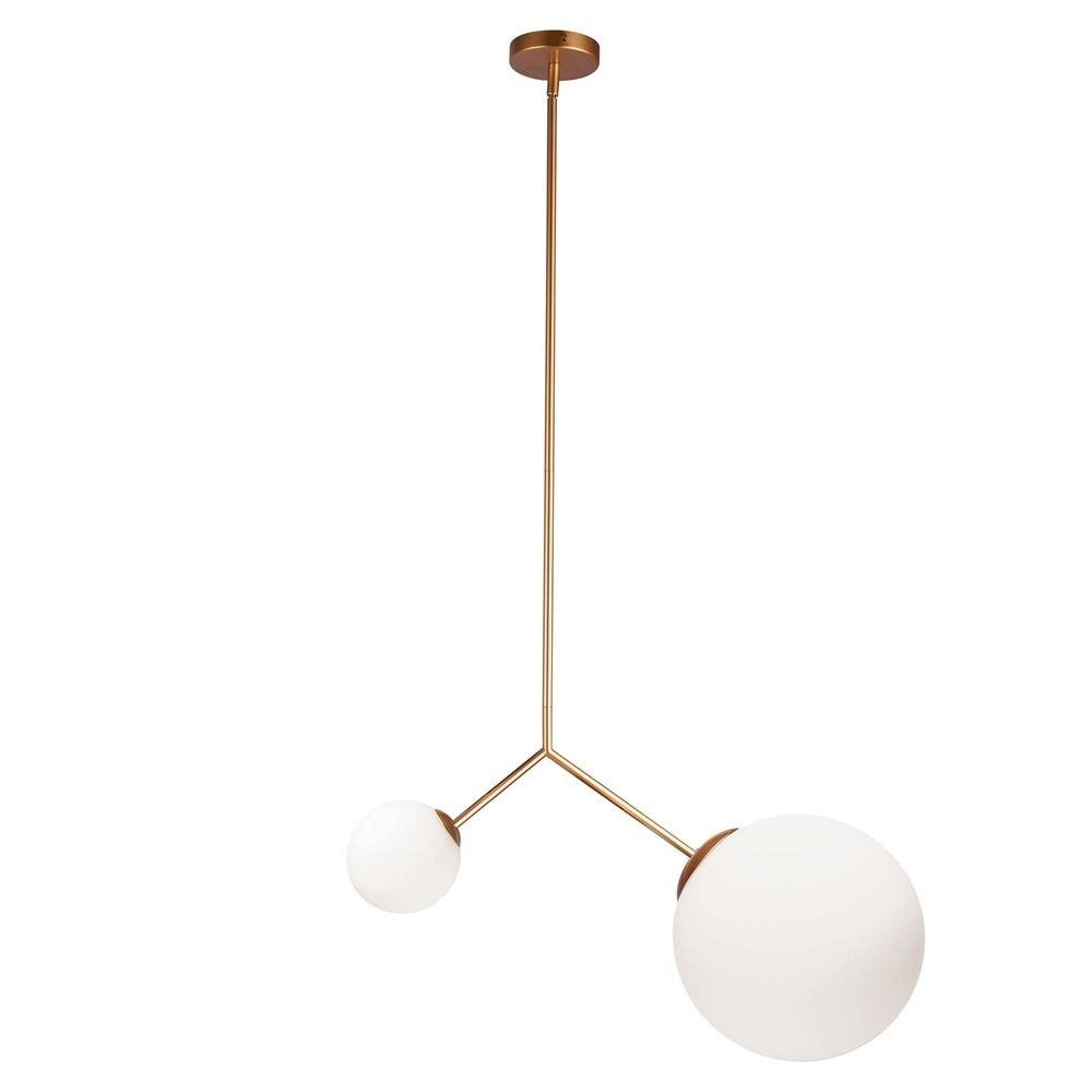 Dainolite lighting orion contemporary 2 light pendant lowes canada