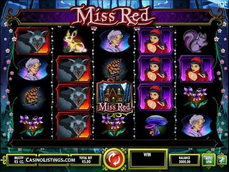 Miss Red (IGT) Free Slot Game to Play for Real Money & for