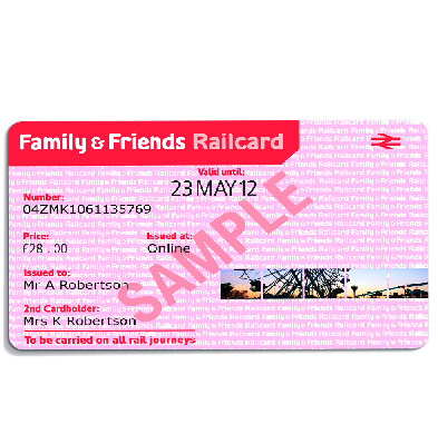 10 Off Family Friends Railcard Free Beauty Products Friends Family Family