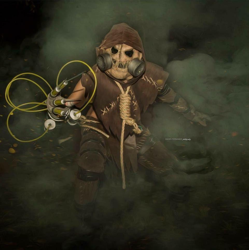 3 Anos Desde Esto Ya O Mi Cosplay De Jonathan Crane Mejor Conocido Como Scarecrow Scarecrow Batman Cosp Arkham Asylum Batman Cosplay
