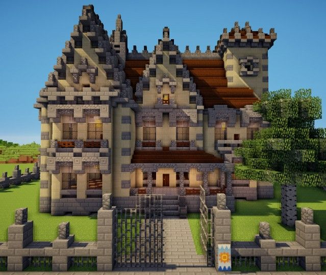 Neo Gothic House Minecraft Project Minecraft Projects Minecraft Architecture Minecraft Houses