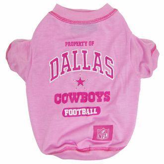 c6fcdd57c5d Dallas Cowboys NFL Football PINK Pet T-Shirt | Pet | Nfl dallas ...