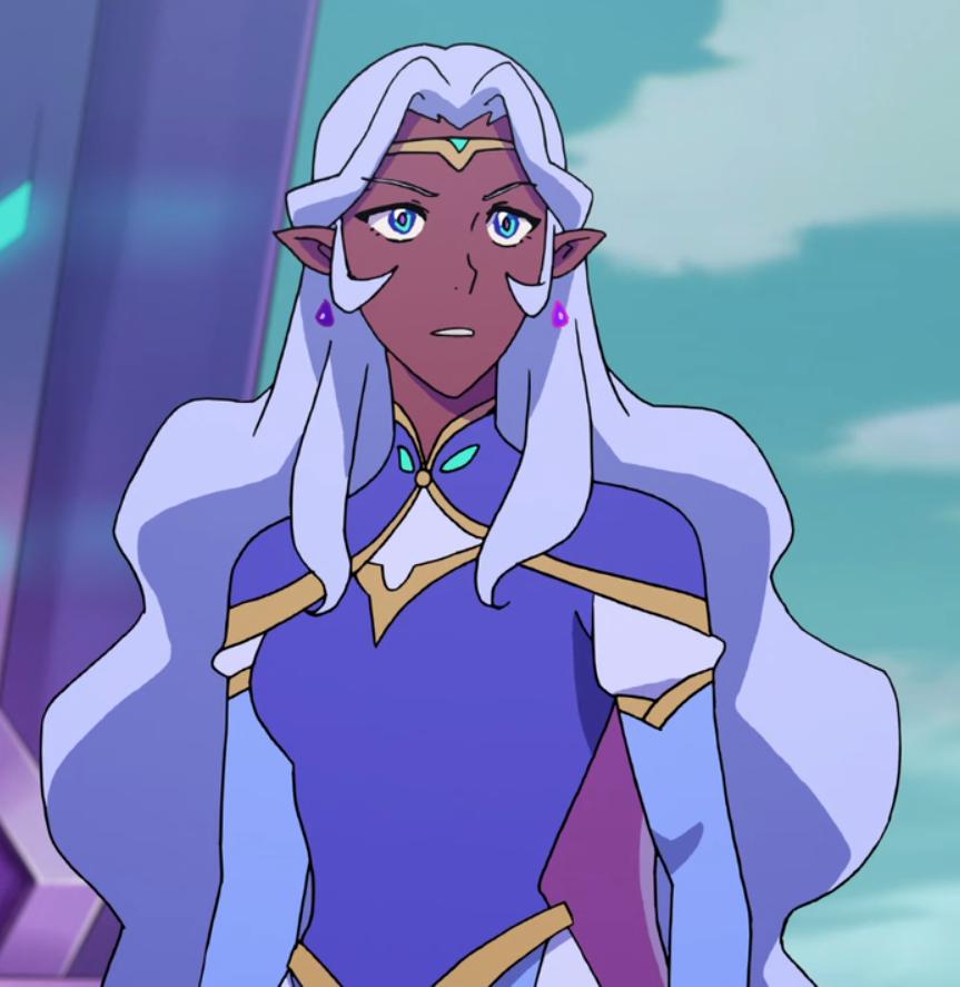 Princess Allura from Voltron Legendary Defender