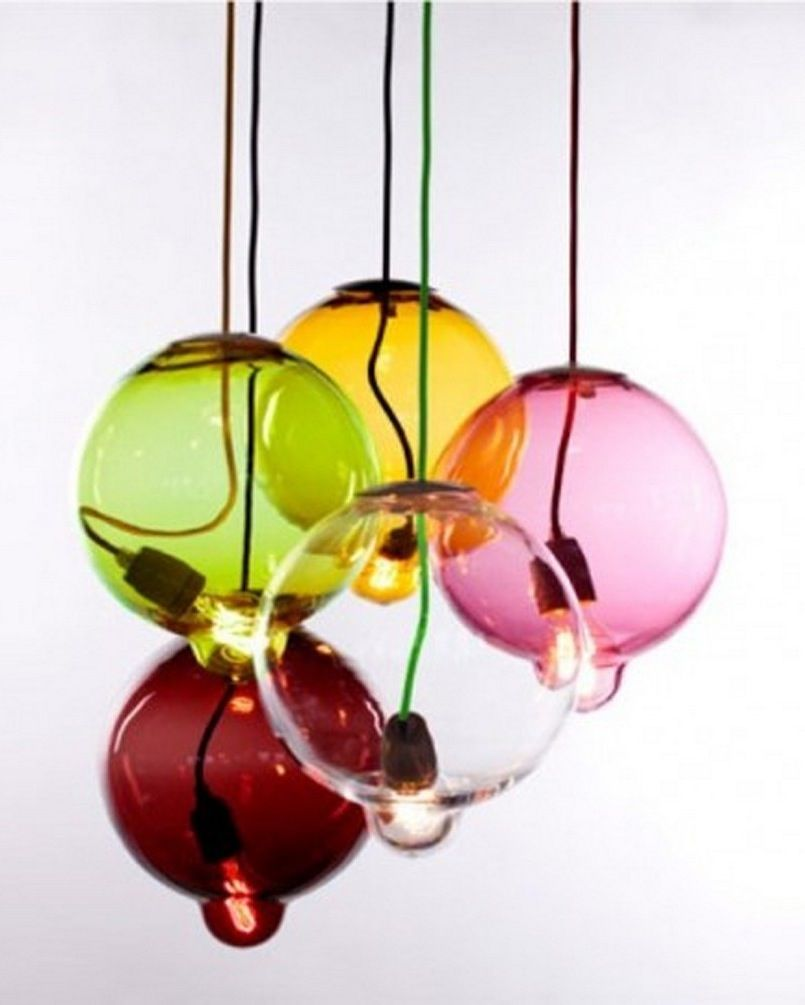 Stylish and Simple Lamp Design with Cool Visual Effects, Melt Down by Johan Lindstén