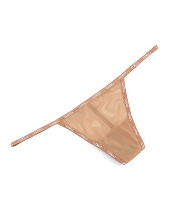 Nude color thongs