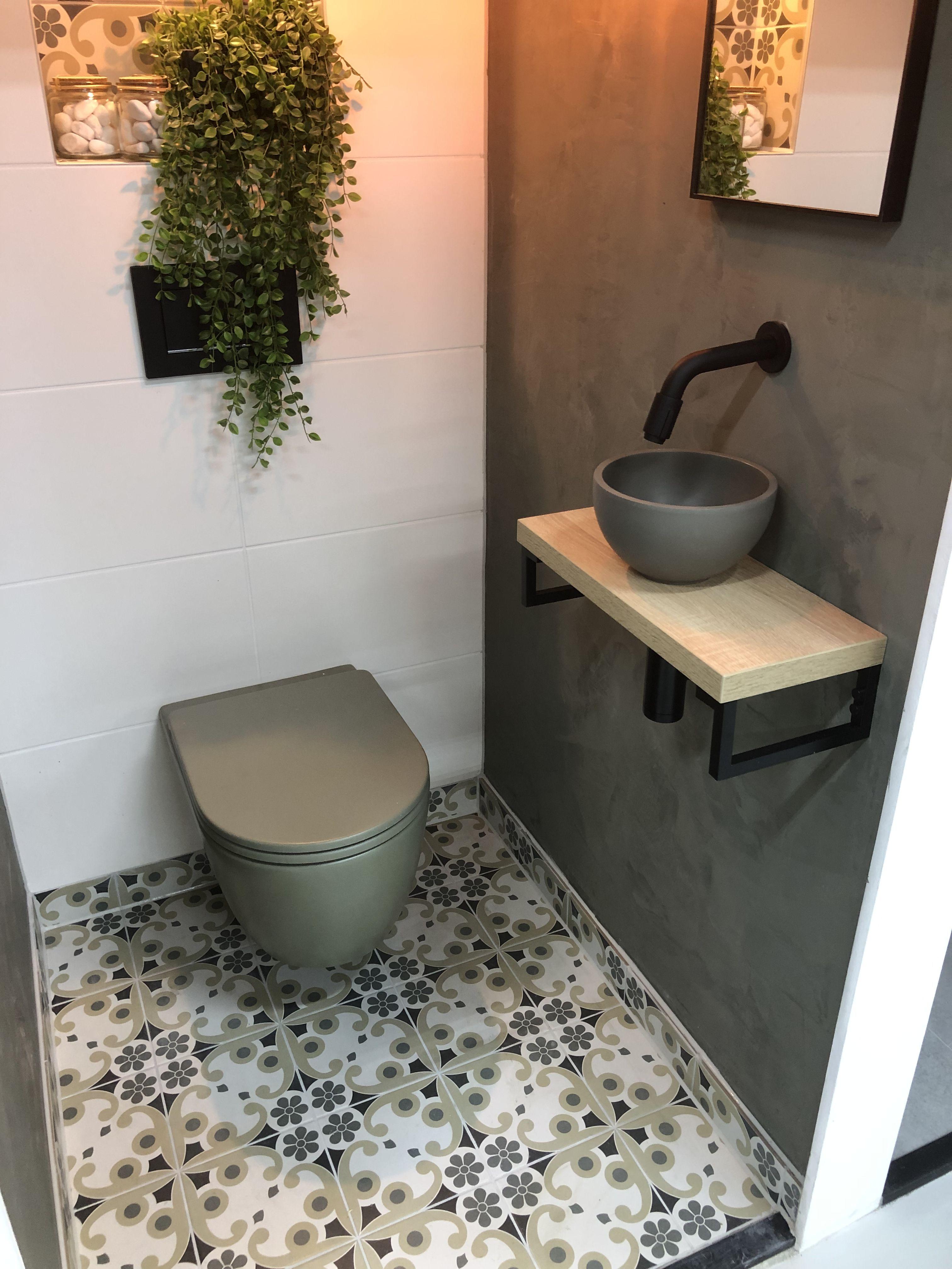 Toilet Groen Toilet Ontwerp Badkamerdecoratie Kleine Badkamer Decoreren