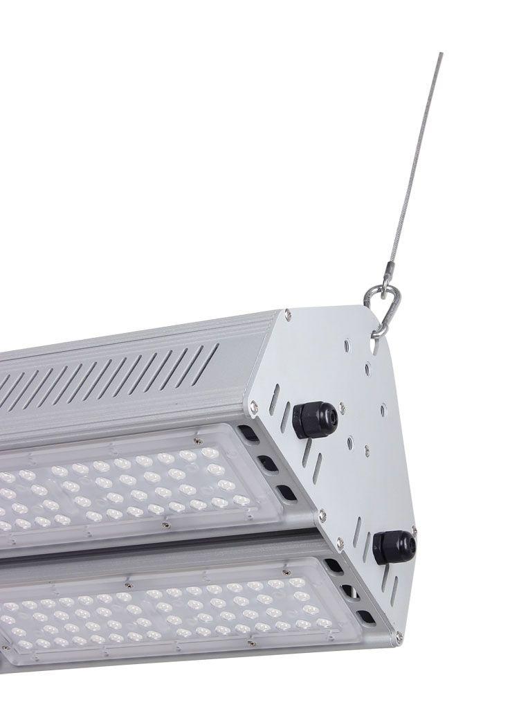 Suspension Led Linear High Bay Light 300w Philips Smd3030 130lm W Osleder Lighting High Bay Lighting Bay Lights Light