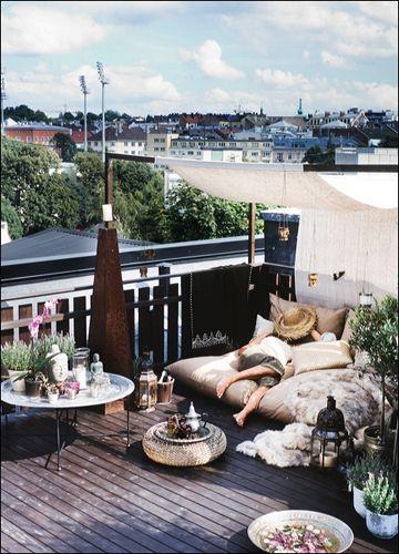 Decoracion de terrazas con plantas, decoracion de terrazas, plantas